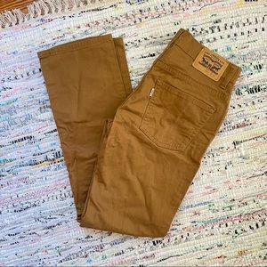 Levi's 511 Slim Fit Khaki Pants